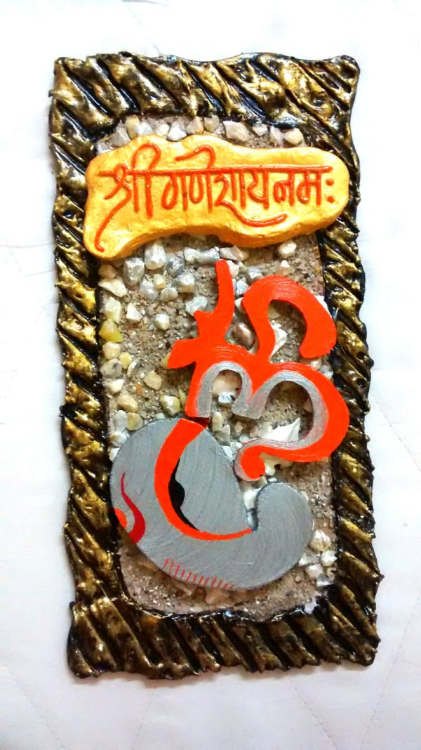 wall hanging ganesha with om